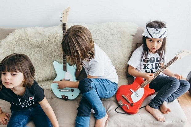 Kids Green Guitar