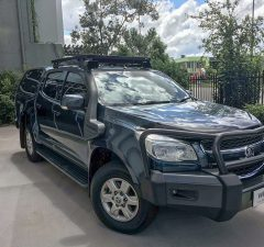 holden colorado roof racks