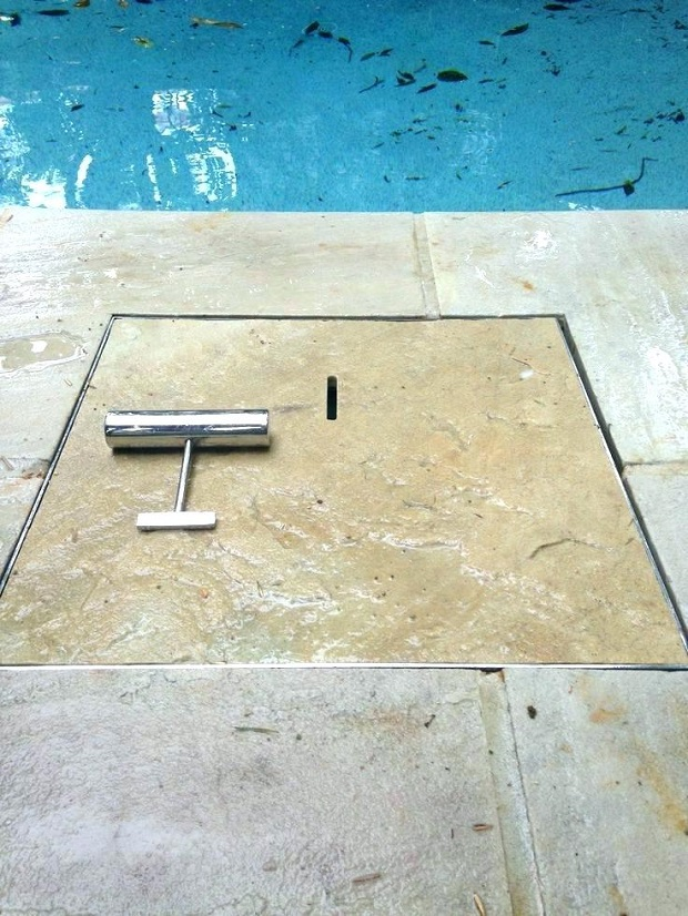 pool skimmer box lids