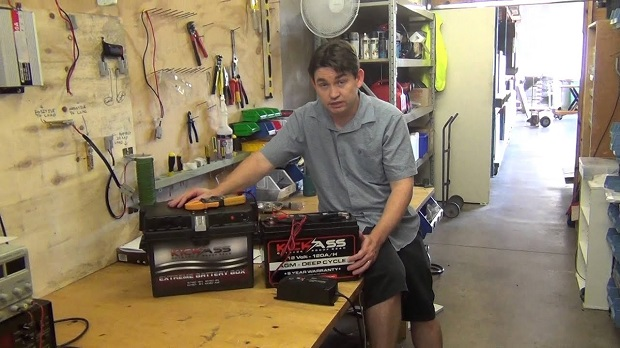 caravan batteries