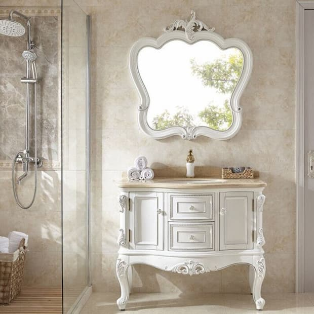 antique-bathroom-mirror
