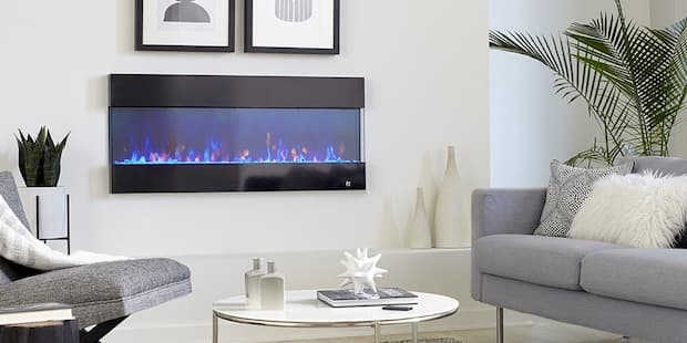 electric fireplace indoor