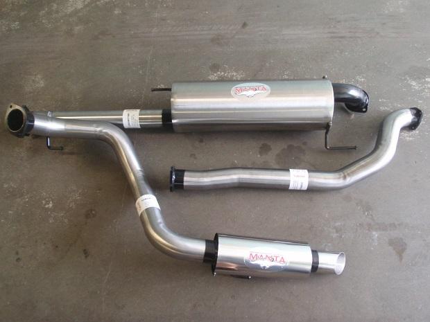 aftermarket Prado exhaust