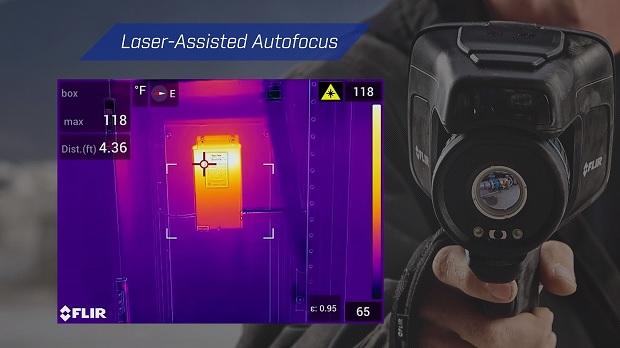 Flir E85 Amazing Laser Auto Focus
