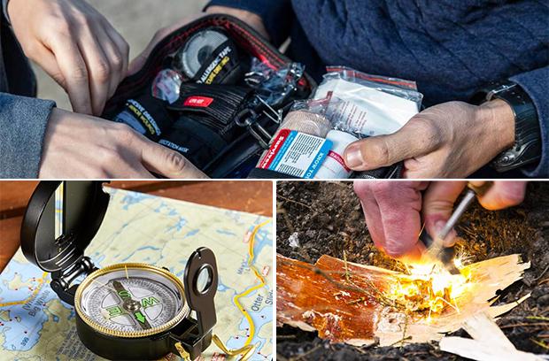 aid-kit-navigation-fire-starter-gear