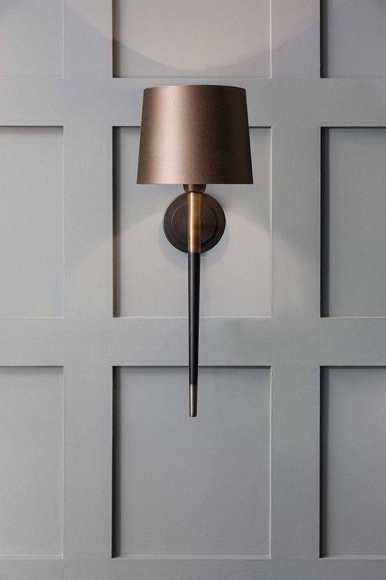 hallway adjustable wall light