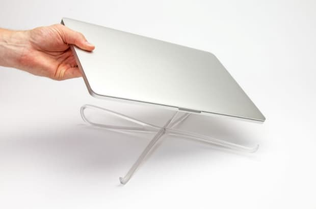 Laptop stand for better