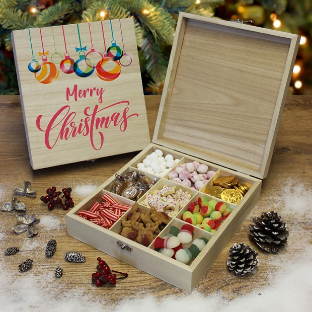 Merry Christmas box of sweets