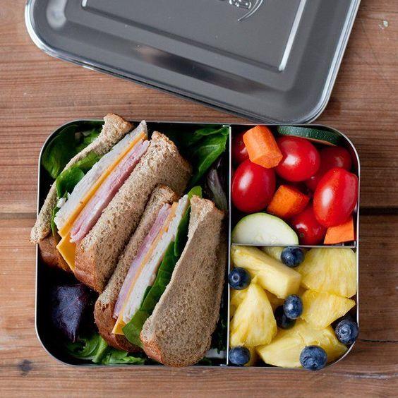 bento box with food